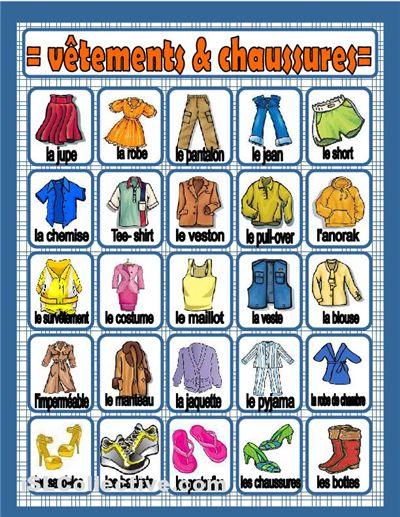 vêtements & chaussures