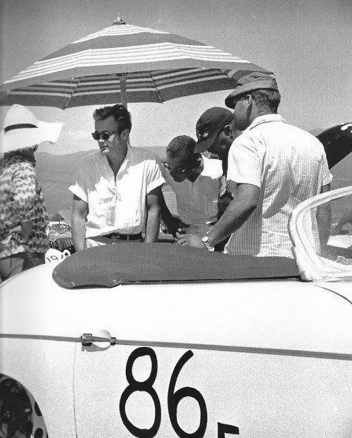 Jimmy at the racetrack. Racing really was his true passion in life. Oh, and he was awesome at it, of course.