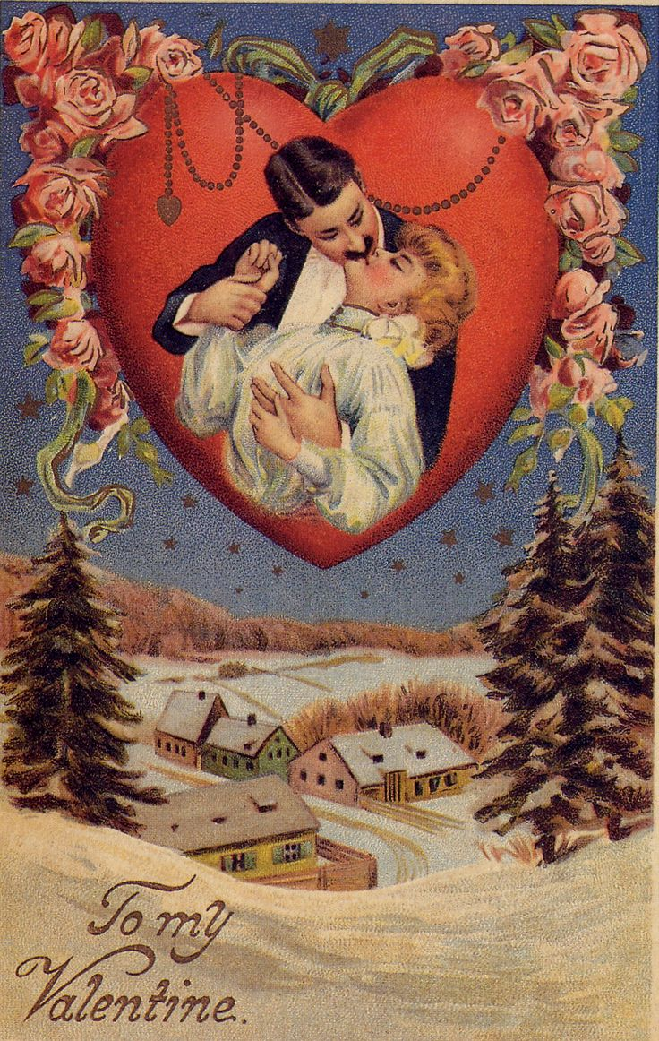 "Vintage Victorian Valentine Couple in heart ~ ""I am tired, Beloved,  of chafing my heart against  the want of you;  of squeezing it into little inkdrops,  And posting it.""  ~Amy Lowell, ""The Letter"""