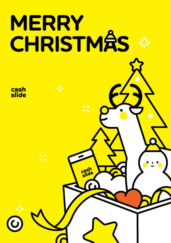 "Consulta este proyecto @Behance: ""cashslide merry christmas poster "" https://www.behance.net/gallery/32114965/cashslide-merry-christmas-poster-"