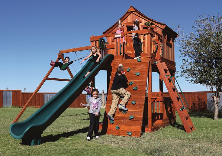 84 best Wooden Swing Sets and Outdoor Playsets images on