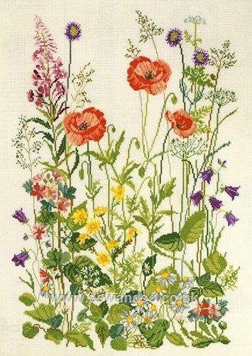 Meadow Flowers by Permin