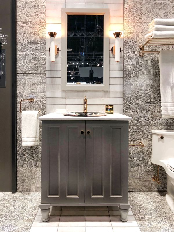 Color Trends From The 2018 Kitchen And Bath Show Kbis Bathroom Trends 2018 Kitchen And Bath Kitchen And Bath Design