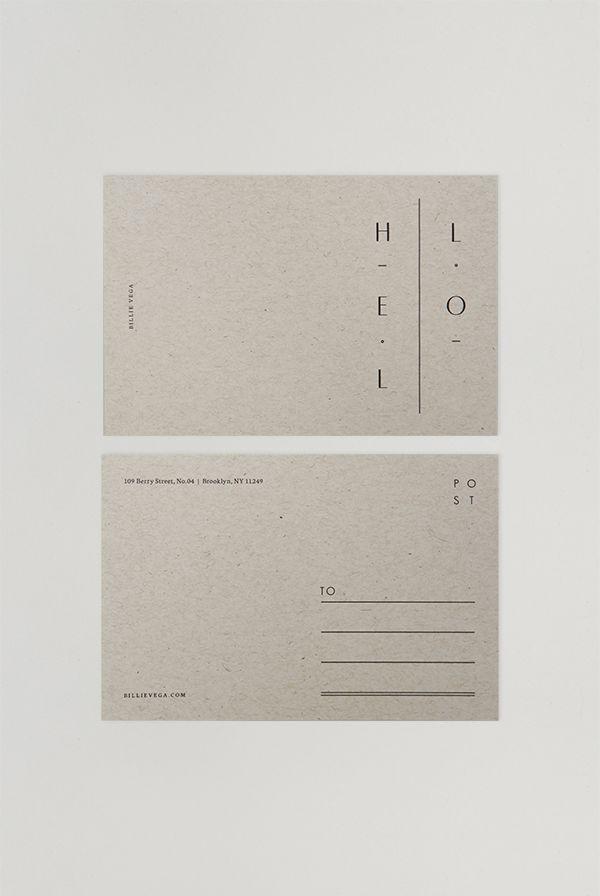 Billie Postcards
