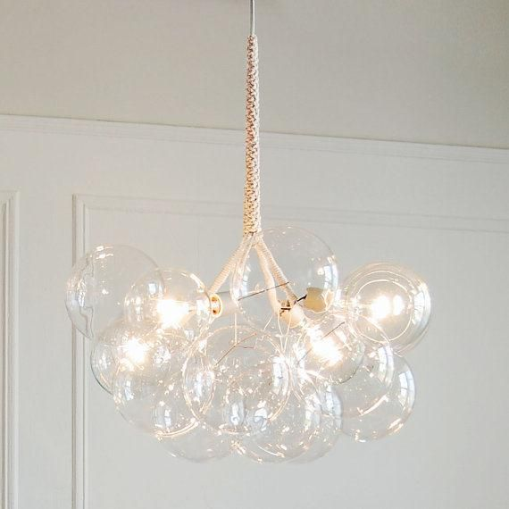 Beyond Cute Almost Quirky Bubble Clustered Light Dining Room Chandelier Wit