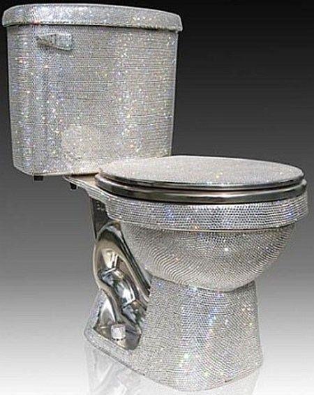 Swarovski Toilet