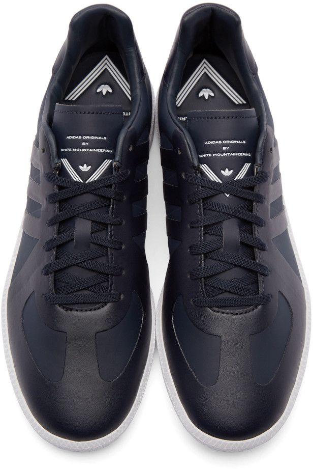 Adidas - Park ST Slipon - Colore: Blu marino, Navy, 41-1