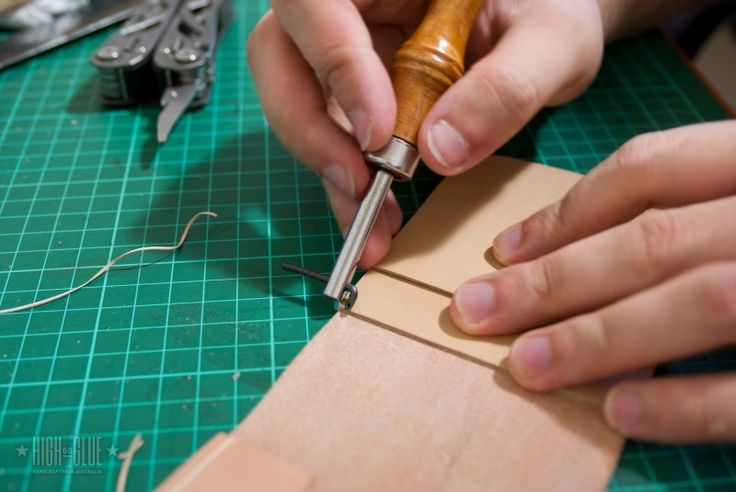This is the most comprehensive leather tutorial I've found, great pictures, MANY techniques and good tips