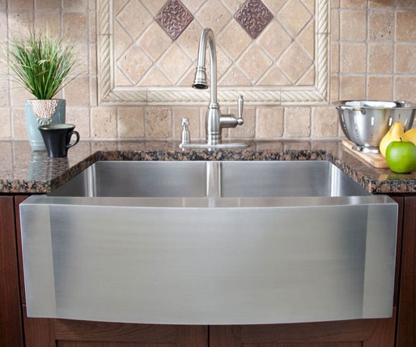 Stainless Steel Farmhouse Kitchen Sinks 10 best guide to kitchen sink options images on pinterest