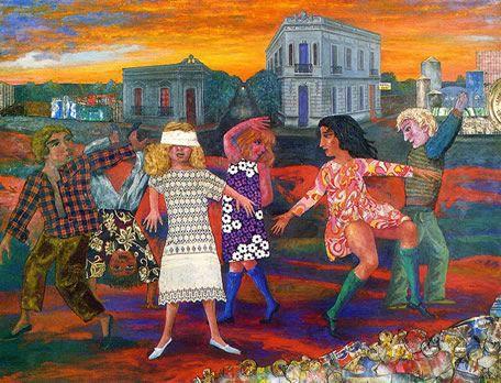Obra de Berni - La gallina ciega (1973)