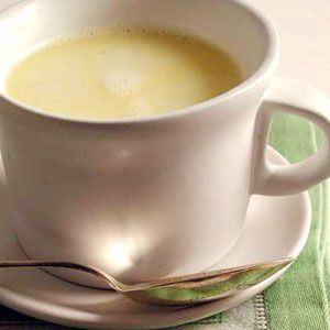 Hot White Chocolate with Ginger