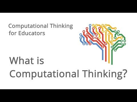 Computational Thinking for Educators [...well, nothing that George Polya has not said before. Check the links.]