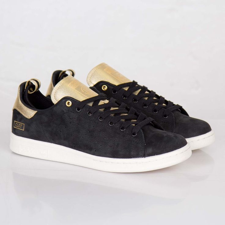 stan smith adidas black and gold