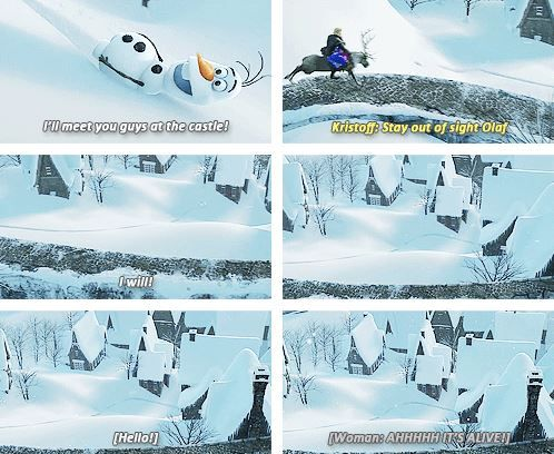 I absolutely love Olaf!