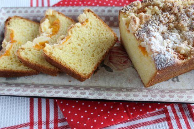 Ciasto drożdżowe z morelami i kruszonką. Wyśmienite!