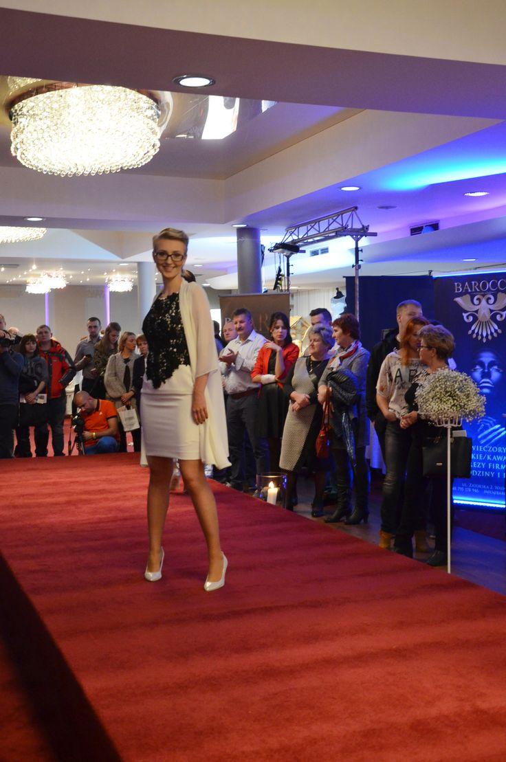 Pokaz mody ślubnej DeMarco. #clothes #moda #wedding #targiślubne