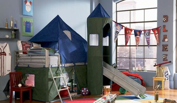 Bunk beds are one of childhood's simplest pleasures. Check out 16 cool bunk beds you wish you had when you were a kid.