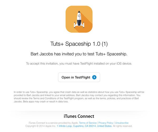 iOS 8: Beta Testing with TestFlight - Tuts+ Code Tutorial