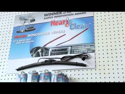 #CrystalGlass Heated Windshield Wipers & Headlight Restoration
