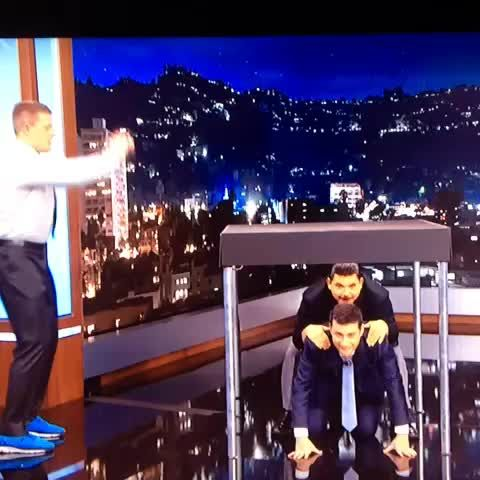 JJ Watt doing vertical jumps in a suit! What a beast!
