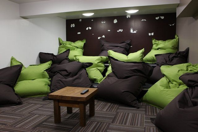 bean bag living room the bean bag room ideas and crafts 13261