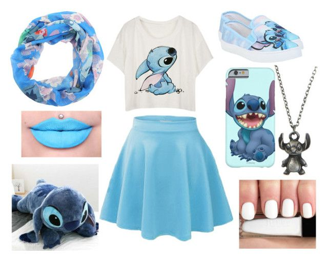 """Lilo & Stitch"" by musicmelody1 ❤ liked on Polyvore featuring Disney"