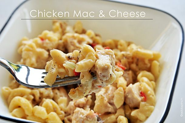 Chicken Mac and Cheese-9532: Dinner, Food, Yum, Main Dishes, Cooking, Mac And Cheese, Chicken Mac, Cheese Recipes