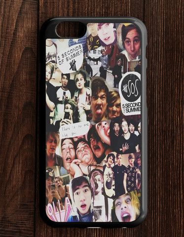 5 Second Of Summer Collage Art 5 SOS Music iPhone 6 | 6S Case