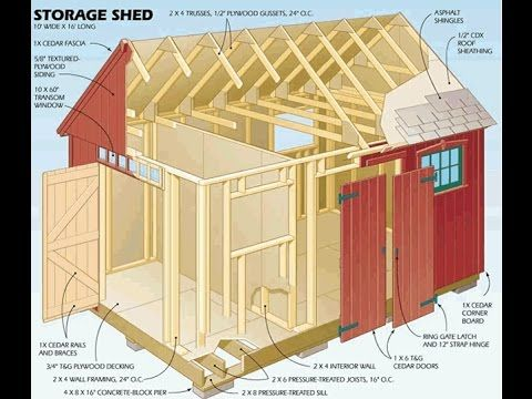Marvelous 10x12 Shed Plans   My Shed Plan