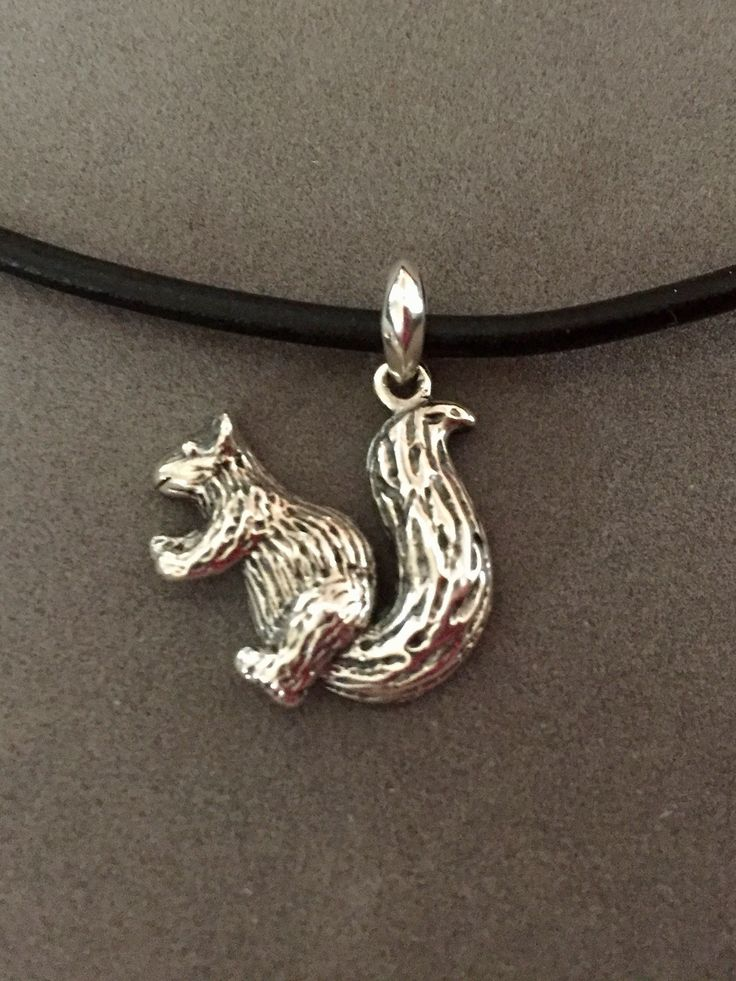 109 best squirrel jewelry images on pinterest red squirrel sterling squirrel pendant aloadofball Gallery