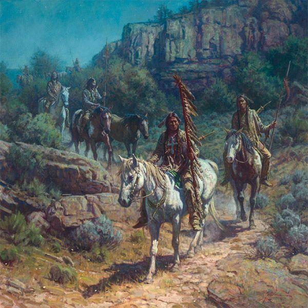 Comanche Moon by Martin Grelle