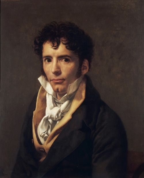 Anne Louis Girodet de Roussy Trioson- Portrait of a man, 1810