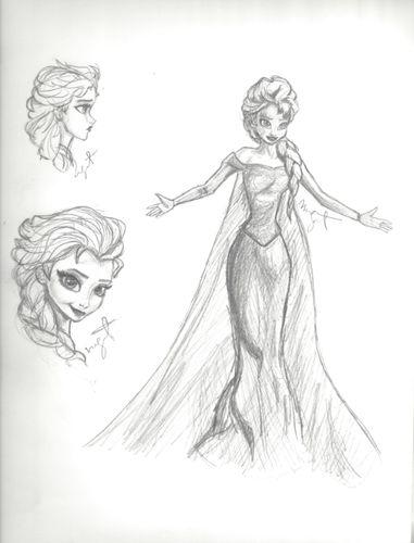 images of elsa from frozen | Elsa - frozen Fan Art