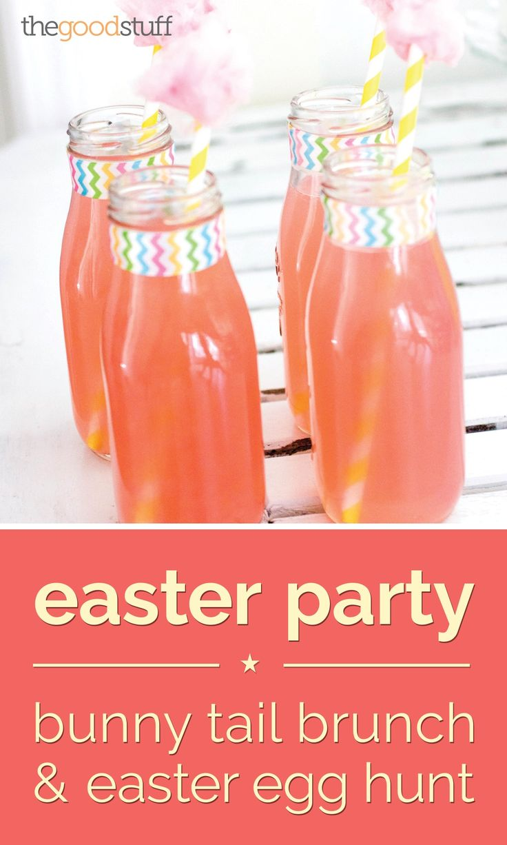 Easter Party: Bunny Tail Brunch & Easter Egg Hunt - thegoodstuff