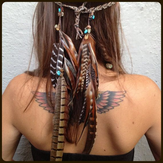 earthy, organic, native american, boho, tribal, bohemian, hippie. Love her hair color