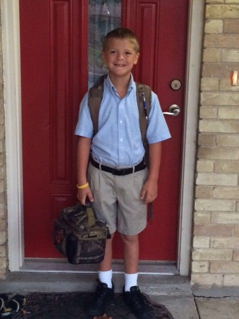 Blog Post - First Days of 2nd Grade: a nervous mommy and a boy growing up too fast! #backtoschool