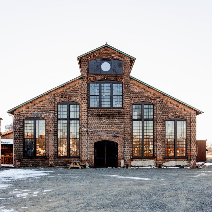 The three-year old Basilica Hudson, a former glue factory that is now a thriving arts site in Hudson, NY.
