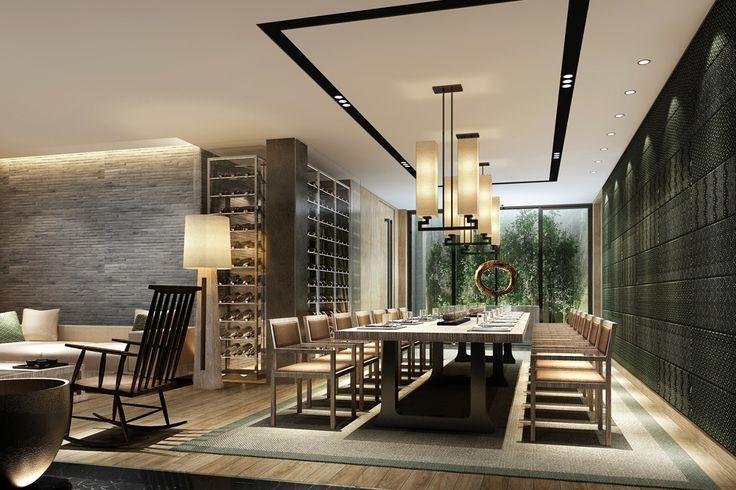 A户型 - 负一层  餐厅20140703