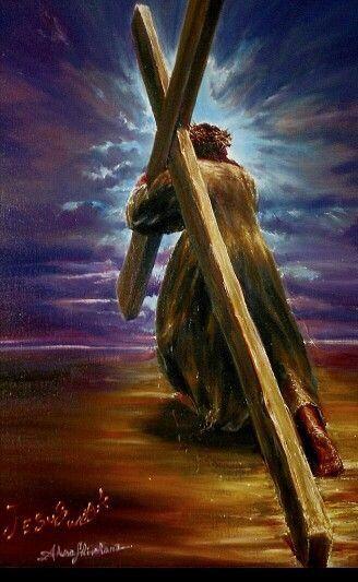 Jesus carrying the cross Jesus pictures Jesus christ