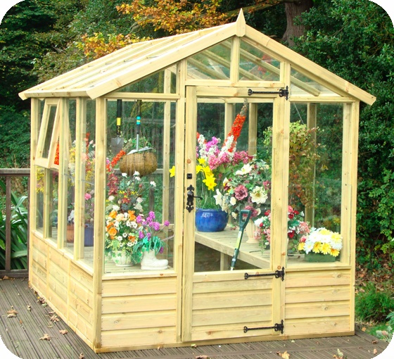 pictures of anazing green houses   An amazing tanalised timber Greenhouse, this building comes with 2 ...