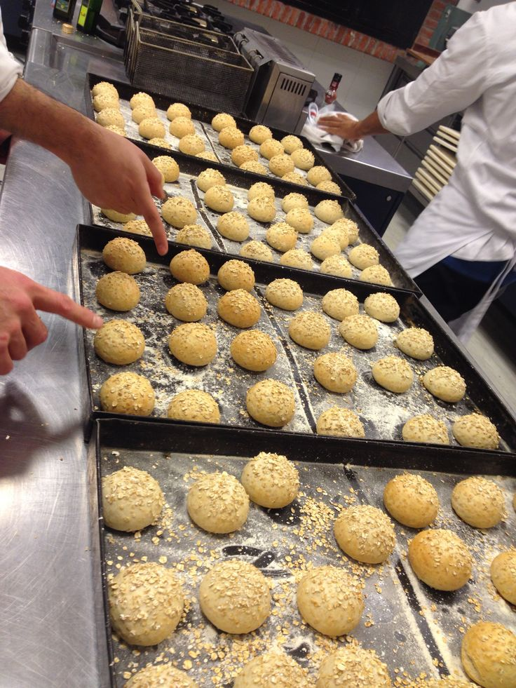 Panecillos de avena recién horneados/Oat Rolls Fresh from the Oven