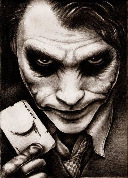 Ran by weheartit.com  11/28/2016 Joker is one of the most beloved and distinguish characters because of its unique style and how its a symbol that goes against society who establishes stereotypes a symbol of revolution in sort of a way like Vendetta is. I think its not a stereotype.