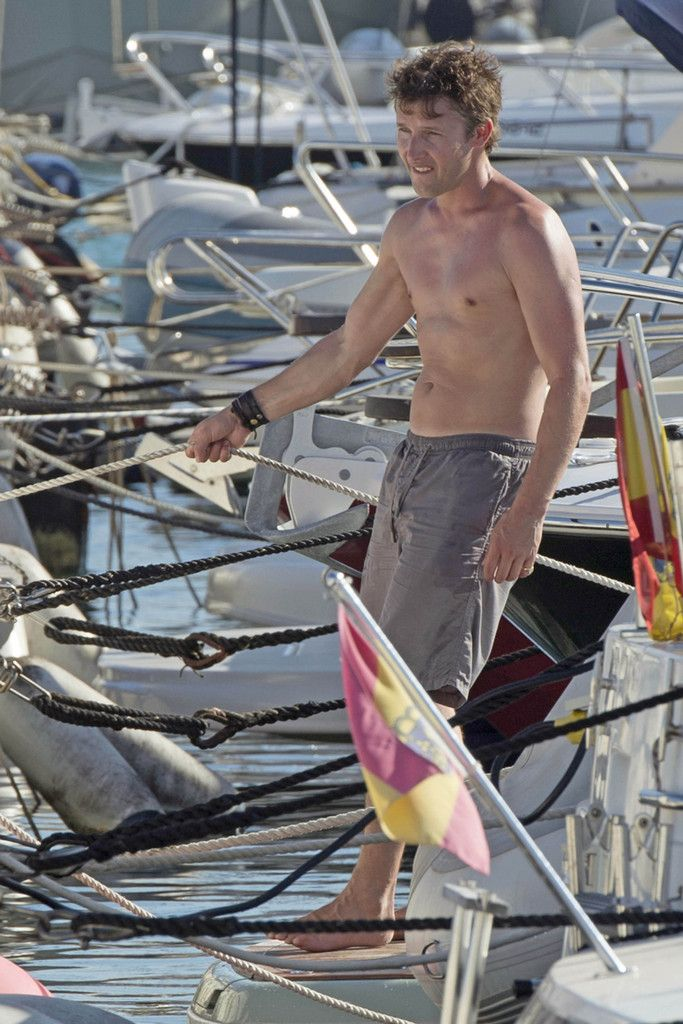 James Blunt - James Blunt Enjoys His Holiday In Ibiza