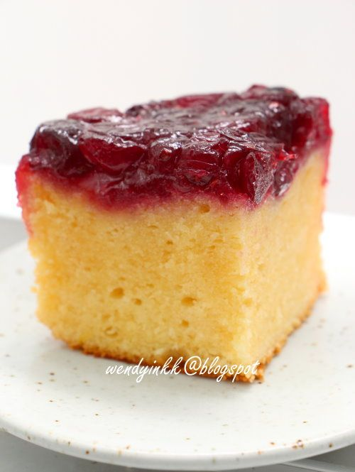 Table for 2.... or more: Cranberry Upside Down Cake#more#more
