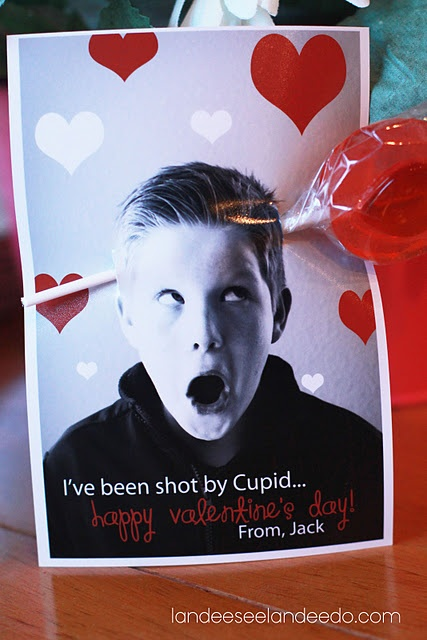 "LOTS of ideas for a ""picture"" perfect Valentine's Day card!"