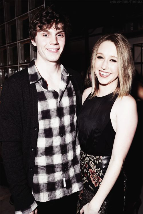 Taissa Farmiga, Evan Peters, why are they not together for real?? i hate Emma Roberts