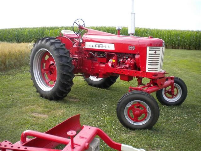 Farmall 350 Tractor for sale