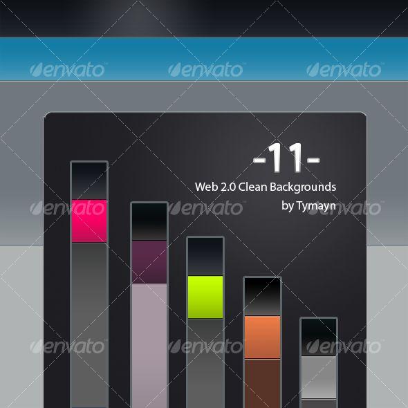 Clean Web 2.0 Backgrounds & Background Maker - Patterns Backgrounds