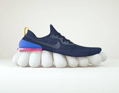 Nike Epic React #behance #design @GoaShape