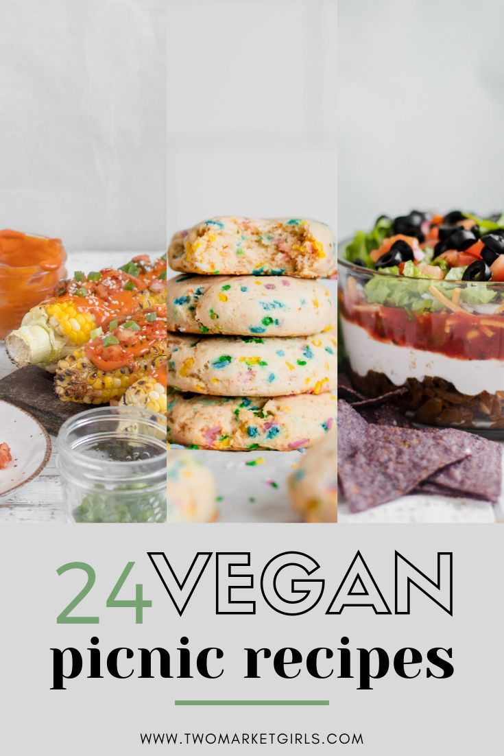 24 VEGAN PICNIC RECIPES PERFECT FOR SPRING >> easy potluck recipes –